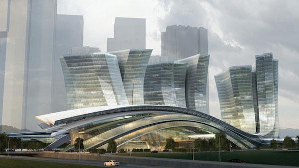 World's Largest Underground High Speed Rail Station 01