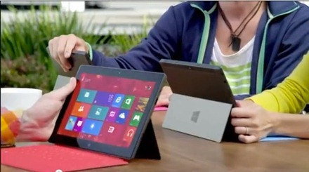 Microsoft Surface Ad