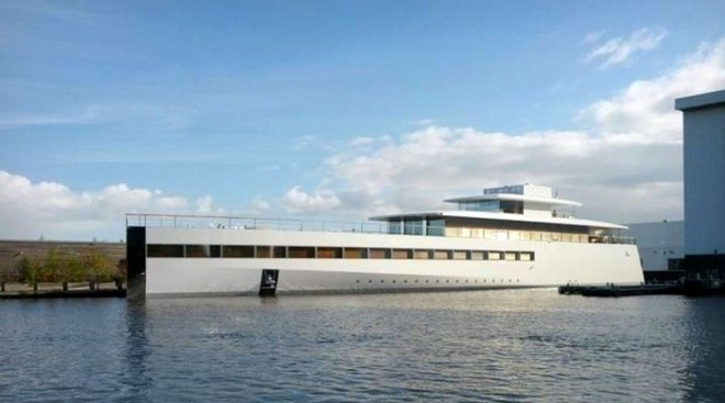 Venus, Steve Jobs' yacht, launches in the Netherlands