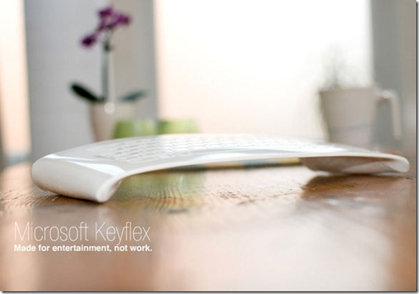 Future technology Concept of the KeyFlex