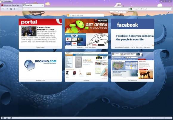 Opera browser webkit engine