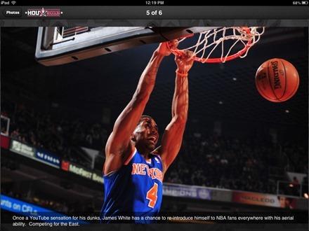 NBA All Star 2013 for iPad