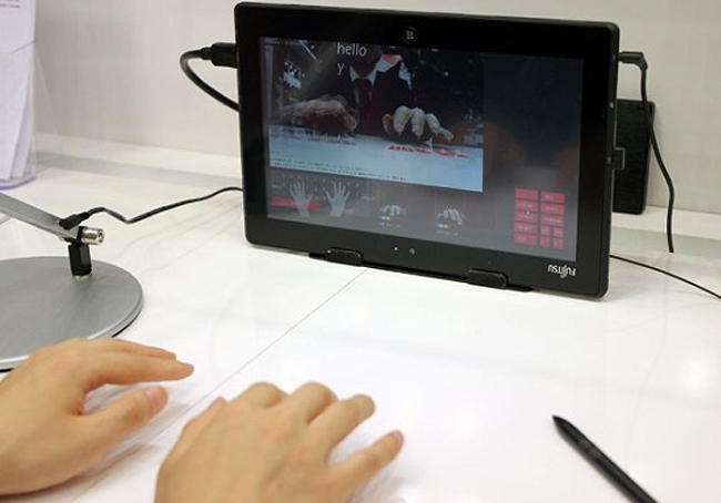Fujitsu Virtual Tablet Keyboard